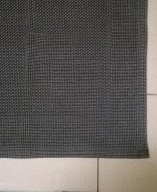 Bagno   tappeto bagno modello antares   variante grigio scuro
